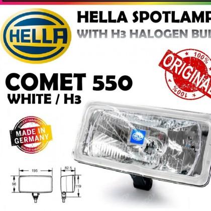 HELLA COMET 550 SPOT LAMP (WHITE)