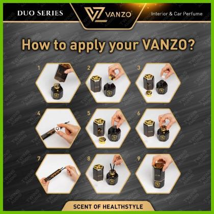 VANZO Car Air Purifier Sterilizing Air Freshener VANZO Pewangi Kereta Vanzo