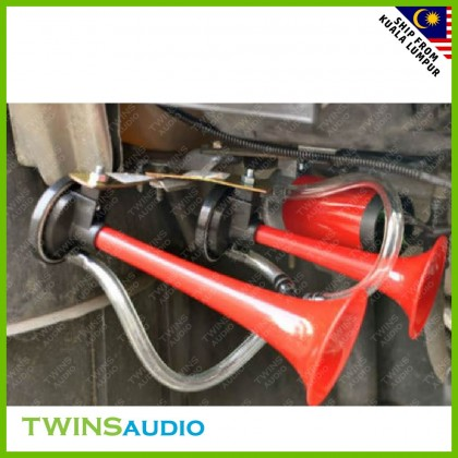 Stobot Twin Tone Air Horns - Suitable for All Types of 12v Car