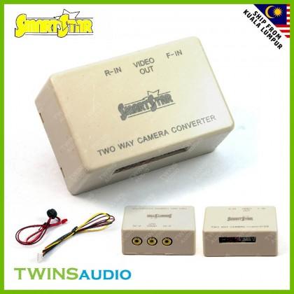 SmartStar 2 Ways Camera Converter Control Box - Front & Reverse Camera Input + Auto Front Cam Function