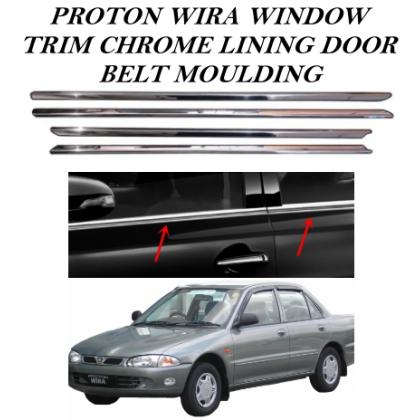 Proton Wira Door Belt Moulding Door Window Triml 4 pcs/set