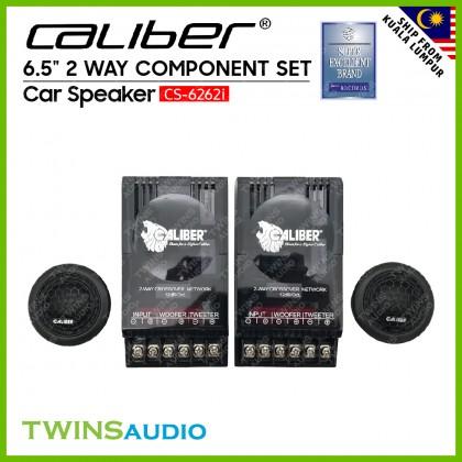 """Caliber Car Speaker CS-6262i - 6.5"""" 2 Way Component Set Car Speakers"""