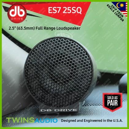 """DB Drive Euphoria ES7 25SQ 2.5"""" (63.5mm) Full Range Loudspeaker 220 watts"""