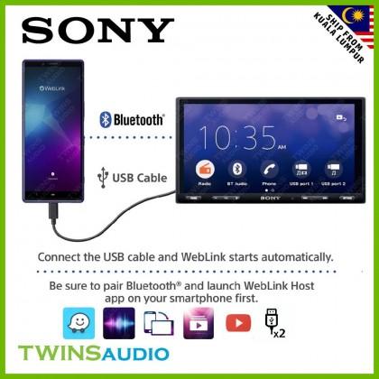 "SONY Car Receiver 6.2"" – SONY XAV-AX5500 Bluetooth Media Receiver with WebLink Cast 100% Original 1 warranty"