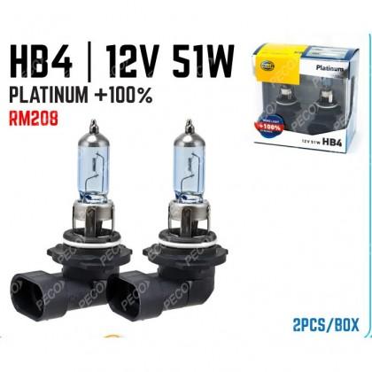 HELLA 9006(HB4) 12V 55W BULB (PLATINUM 100%)