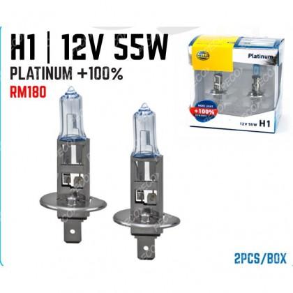 HELLA H1 12V 55W BULB (PLATINUM 100%)