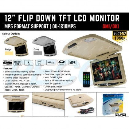 """1210MP5 12"""" ROOF MONITOR"""